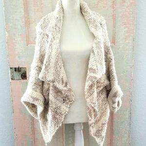 Anthropologie Sleeping on Snow Wool Sweater